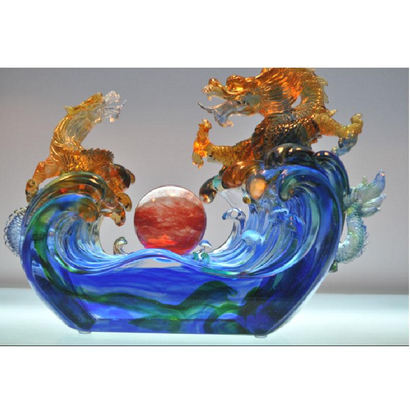 精美的现代琉璃工艺品    1 - h_x_y_123456 - 何晓昱的艺术博客
