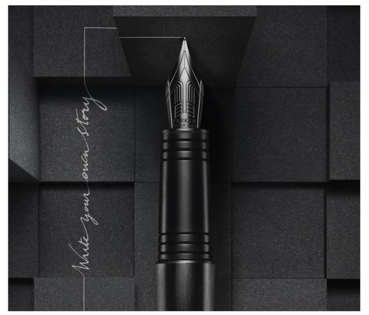 派克首席系列纯黑特别版墨水笔(钢笔)