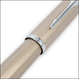 派克IM系列香槟金白夹墨水笔(钢笔)