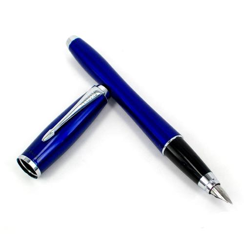 派克都市系列海洋蓝白夹墨水笔(钢笔)