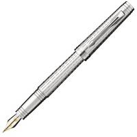 派克首席系列豪华镀银白夹墨水笔(钢笔)