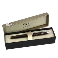 派克IM系列可可棕白夹墨水笔(钢笔)
