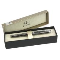 派克IM系列金属灰格子纹宝珠笔(签字笔)