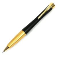 派克都市系列磨砂黑杆金夹原子笔(圆珠笔)