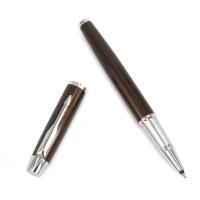 派克IM系列可可棕白夹宝珠笔(签字笔)