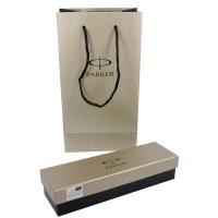 派克IM系列香槟金白夹宝珠笔(签字笔)