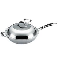 德世朗厨具系列三层钢铂金炒锅DFS-C062