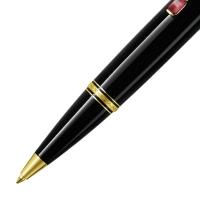万宝龙波希米亚25200红色合成宝石配黑色树脂圆珠笔(原子笔)