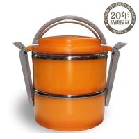 德世朗厨具系列双层保温便当盒-北京商务礼品网