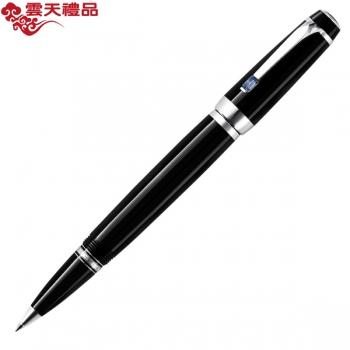 万宝龙波希米亚25330蓝色合成宝石配黑色树脂签字笔(宝珠笔)