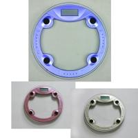 佳美BL-04F+圆型玻璃秤 体重秤 健康秤