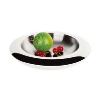 VOCHIC沃奇 DOUBLE FRUIT PLATE (S)  宽边双层果盘(小号12寸)