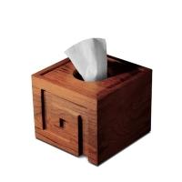 """匠艺 """"回-恋物""""纸巾盒 花梨木纸巾盒 DNP03"""