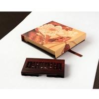 """匠艺  """"窗棂""""名片盒 紫檀名片盒 BCC01"""