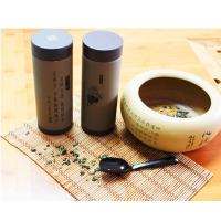 富光-Rhythm精品茶经杯紫砂胆茶经直筒杯