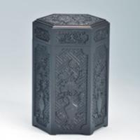 浮雕茶叶筒YSB-007-红木礼品