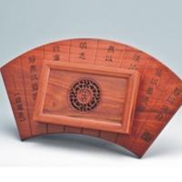 宁静致远茶盘YSB-001-红木礼品