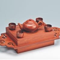 吉祥如意茶具组YSB-004-红木礼品