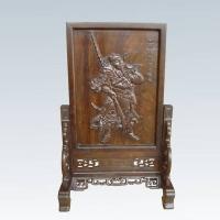 关公插屏YSA-012-红木礼品