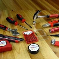 瑞德工具世家双色系列 22PC家居日用工具 128022