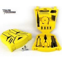 瑞德变形金刚系列博派工具箱 黄色(8件套) NO.901025