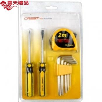 瑞德工具世家双色系列  8pc家用礼品工具   021008A