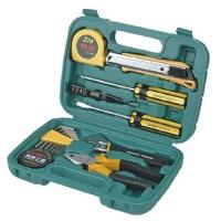 瑞德工具世家双色系列  17pc精品家用工具 011017