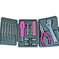 瑞德工具世家双色系列  25pc迷你家用工具 011025A