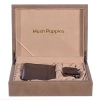 Hush Puppies 暇步士 皮具礼盒二件套(钱包、钥匙夹) 黑色 TL1088-11B