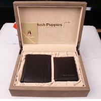 Hush Puppies 暇步士 皮具礼盒两件套 (钱夹、名片夹)咖色 TL1088-15A