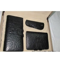 Hush Puppies 暇步士 皮具礼盒三件套 (长-短钱夹、车钥匙扣)咖色 TL1088-10