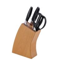 IBOH 德国艾铂赫 典雅 五件刀具套装(3CR13     榉木刀座)B015