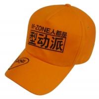 广告帽 logo单色丝印5片款式棒球帽 GGM3