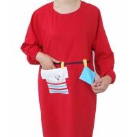 广告围裙 带袖广告围裙 WQ2