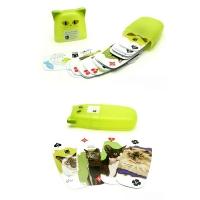 广告扑克 异形塑料盒包装扑克 PK04