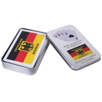 广告扑克 马口铁盒广告扑克 PK03