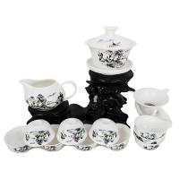 广告茶具套装 陶瓷礼品茶具 整套功夫茶具 GGCJ2