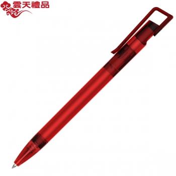 KACO书畅 透明红色签字笔/广告笔/促销笔/礼品笔/中性笔/钢笔/墨水笔