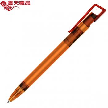KACO书畅 透明橙色签字笔/广告笔/促销笔/礼品笔/中性笔/钢笔/墨水笔