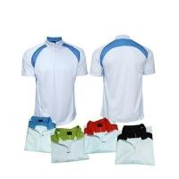 欧喜 Cool Dry Mandarin Collar T-shirt w/ Zip SPT0122