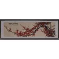 立体织锦画《红梅争春》(小)