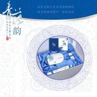 青花商务三件套(无线鼠标、仿陶瓷烤漆笔、U盘)—北京商务礼品网