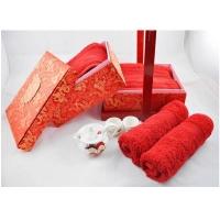 埃及长绒棉婚庆花篮系列毛巾