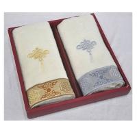 中国缘纯棉毛巾两件套