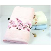 竹纤维平织高档绒面蝴蝶结三件套礼盒系列毛巾