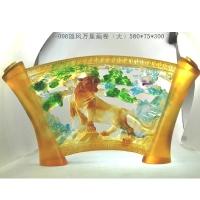 琉璃摆件-雄风万里(大)A-098