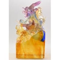 琉璃摆件-喜喜美美 M-022