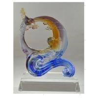 琉璃摆件-海阔天空 M-027