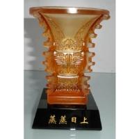 琉璃摆件-蒸蒸日上(中)YX-10-015