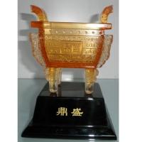 琉璃摆件-鼎盛(大)YX-10-05